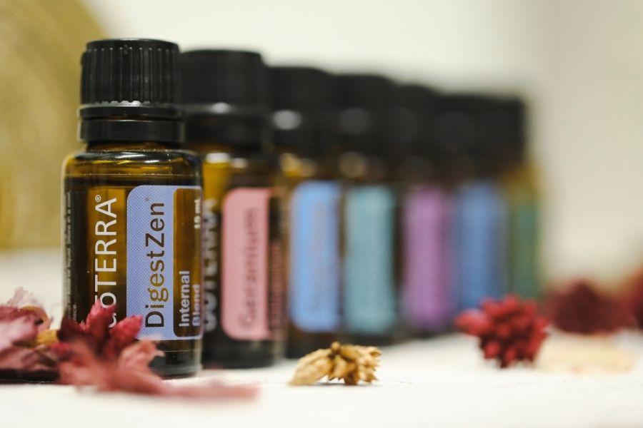 doterra essential oil blend bottles